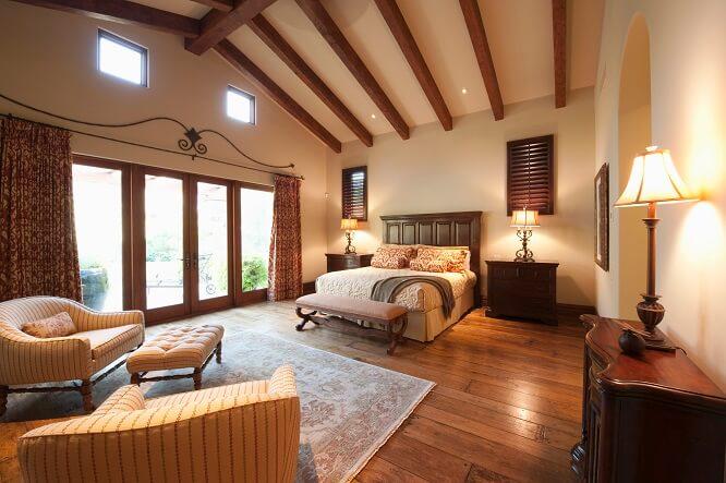 chambre luxe maison