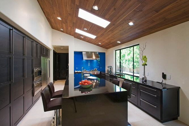 avantages et inconv nients de l arri re cuisine. Black Bedroom Furniture Sets. Home Design Ideas