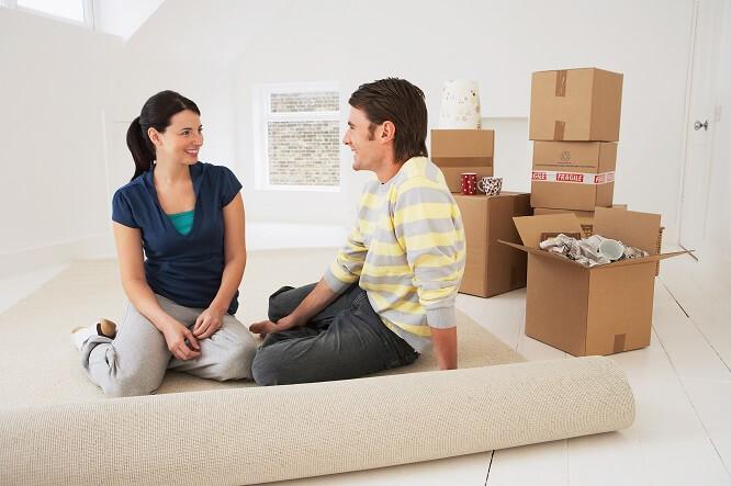 déménagement couple