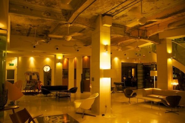 lobby hôtel
