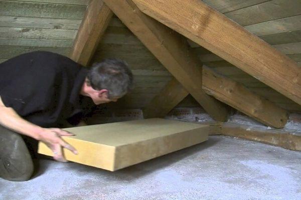 Isolation maison fibre de bois