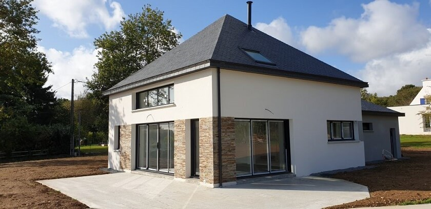 Maison traditionnelle Bretagne Ploërmel